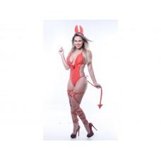 Fantasia Diabinha Body - Le Rouge
